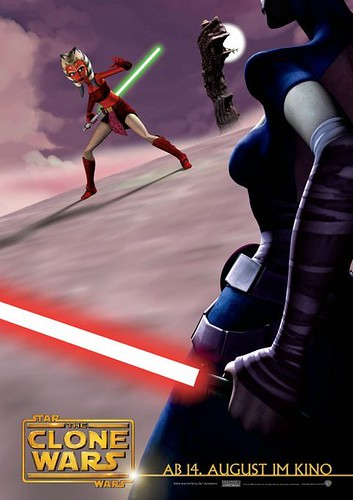 Star Wars: The Clone Wars (2008) poster 4