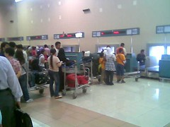 LCCT Check-in counter