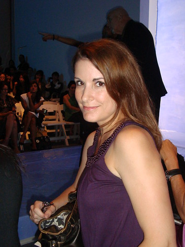 Me at Rebecca Taylor Show