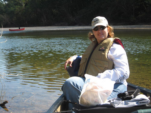 Me! Canoe driver.