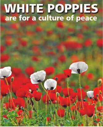 White Poppies for peace