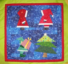 Christmas Wall Hanging for Eric & Dominae
