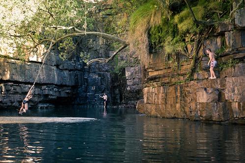 J37 / Scène de vie : The Grotto, un jardin d'Eden