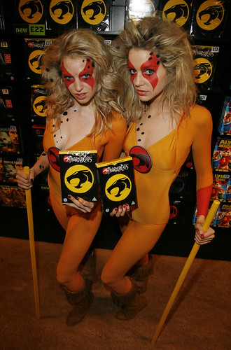 Hot girls dressed as thundercats