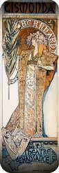 Gismonda 1894. Alphonse Mucha.