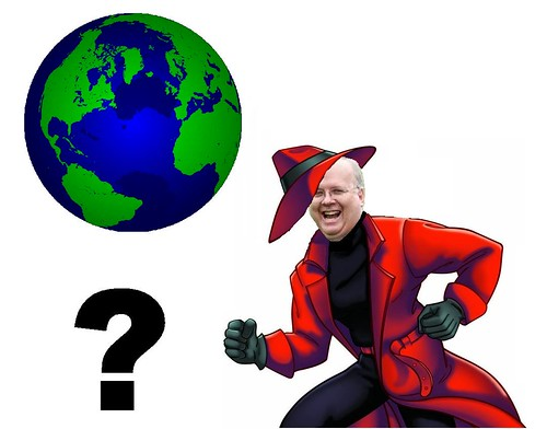 Where in the World is Karl Rove?