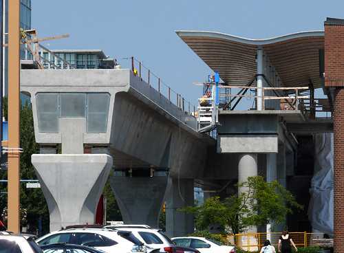 South end of the Canada Line at Richmond-Brighouse Station