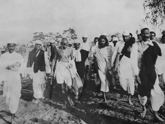 Dandi salt march, 1930