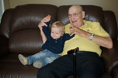 Touchdown with Great Grandpa Oatway