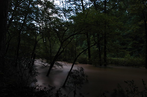 Pohick Creek after Hanna