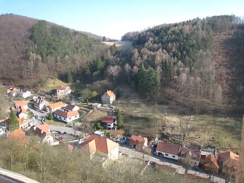 View from Karlštejn