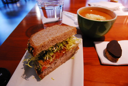 'WichCraft sandwich and soup