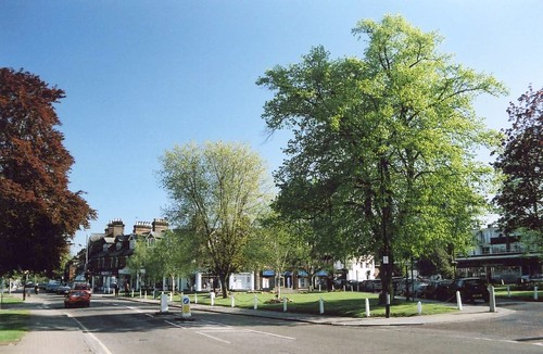 The Main High Street, Harpenden, Hertfordshire, under creative commons from bestfors photostream - click pic for link.