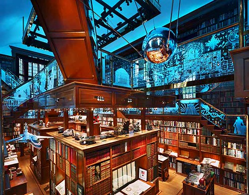 Dream Library (Photo by Andrew Moore)