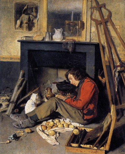 Octave Tassaert - Estúdio Interior 1845