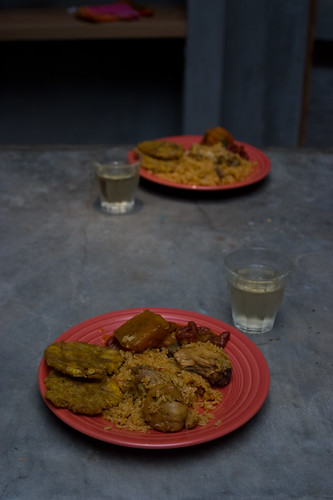 A Puerto Rican Meal
