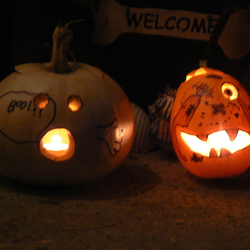 Gage's pumpkins