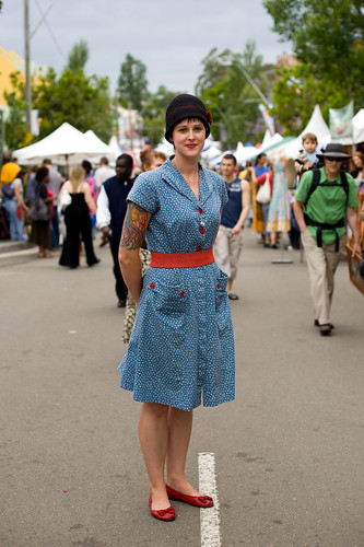 50's look - Glebe street fair