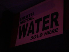 Death metal water sold here