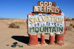 Welcome to Salvation Mountain by slworking2