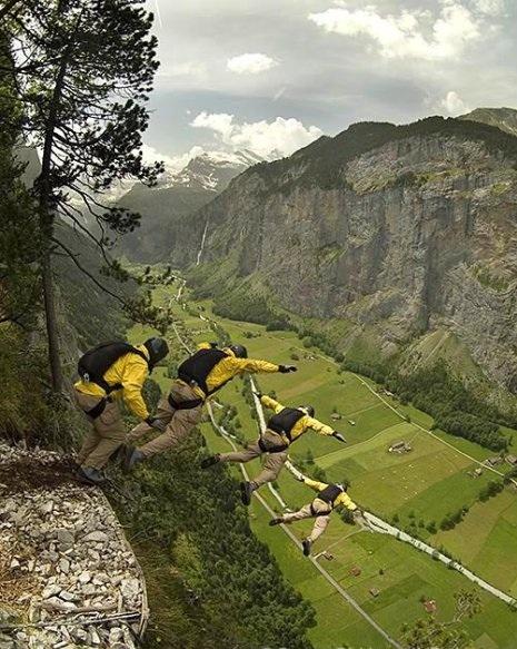 Salto Base-Suiza