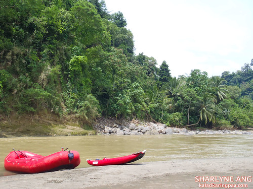 Rafts by the Davao River 2