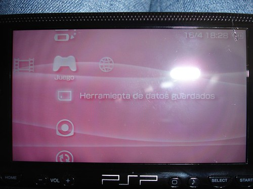 As� es como se ve la grieta en la PSP