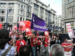 Stonewall, London Pride, 2008