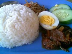 Normah's Cafe nasi lemak