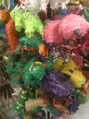 Lil flock of sleeping piñatas pack a mean fun punch.