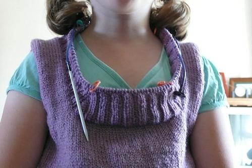 Failed neckline