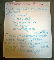 "Persuasive Letter Writing ""I Can"" Statements"