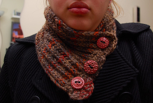 Swirl Neckwarmer I - Finished!