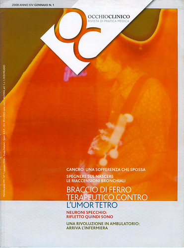 My Polaroid on OCCHIO CLINICO,cover.