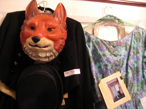 Fox, suit, and dress