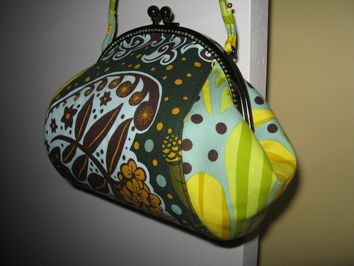Teardrop purse - sides by you.