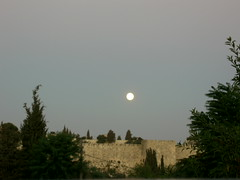 Full Moon Over Jerusalem