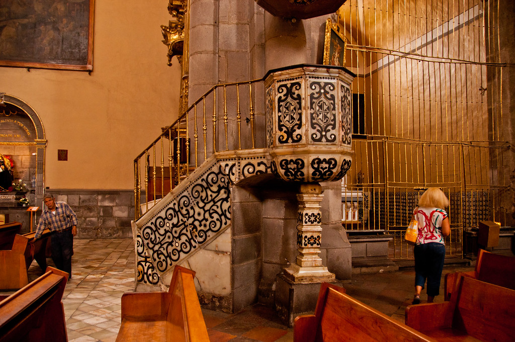 Pulpit in Santo Domingo