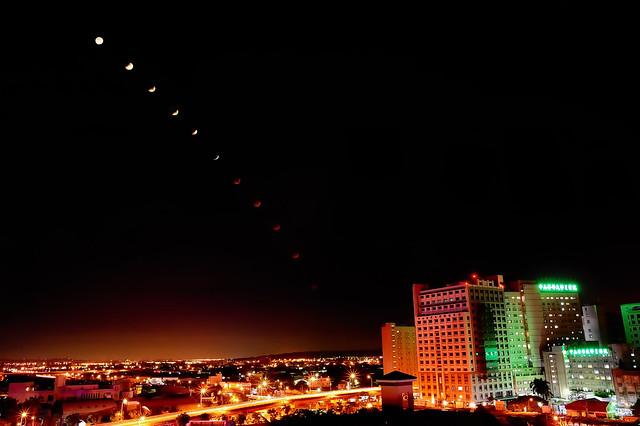 月全蝕 Lunar Eclipse in Taiwan