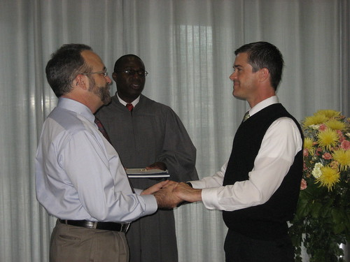 Steve and Harold Getting Married