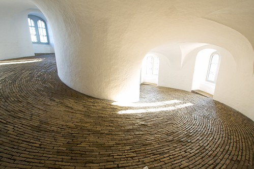 spiral tower interior, copenhagen