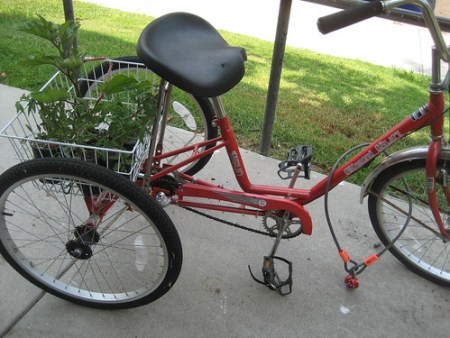 my garden ride