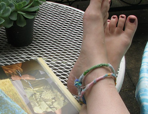 rag anklets