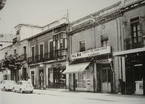 Calle Libreros en 1960