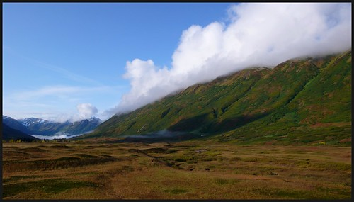 Turnagain Pass fall landscape.
