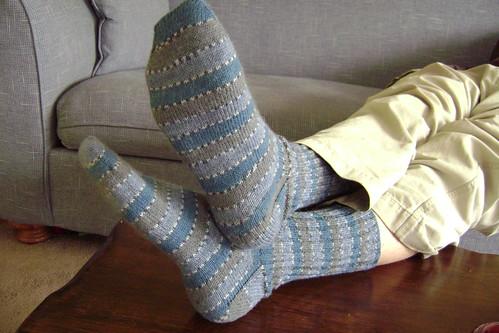 Mike's new socks