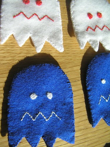 pacman dead ghosts