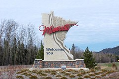 Minnesota Welcome Sign