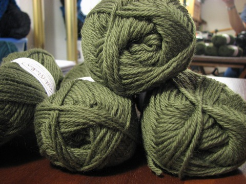 Wool of the Andes in Fern