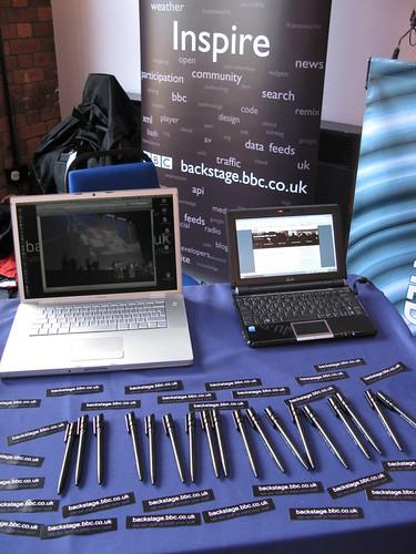 Backstage at Bristol Web Developers conf